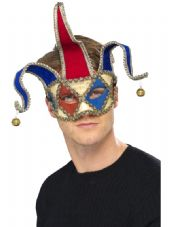 Venetian Musical Jester Eye Mask
